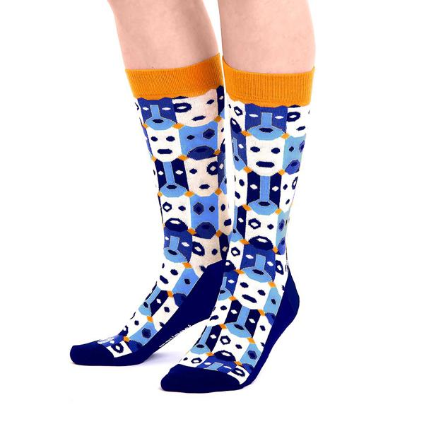Bobo colourful unisex cotton socks (size 4-7)