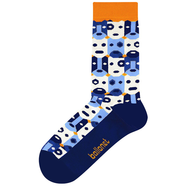 Bobo colourful unisex cotton socks (size 7.5-11.5)