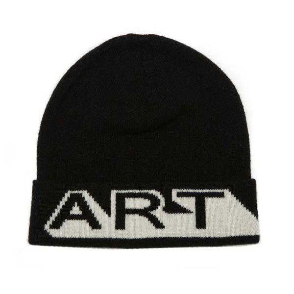Black and white Art unisex Green Thomas lambswool hat