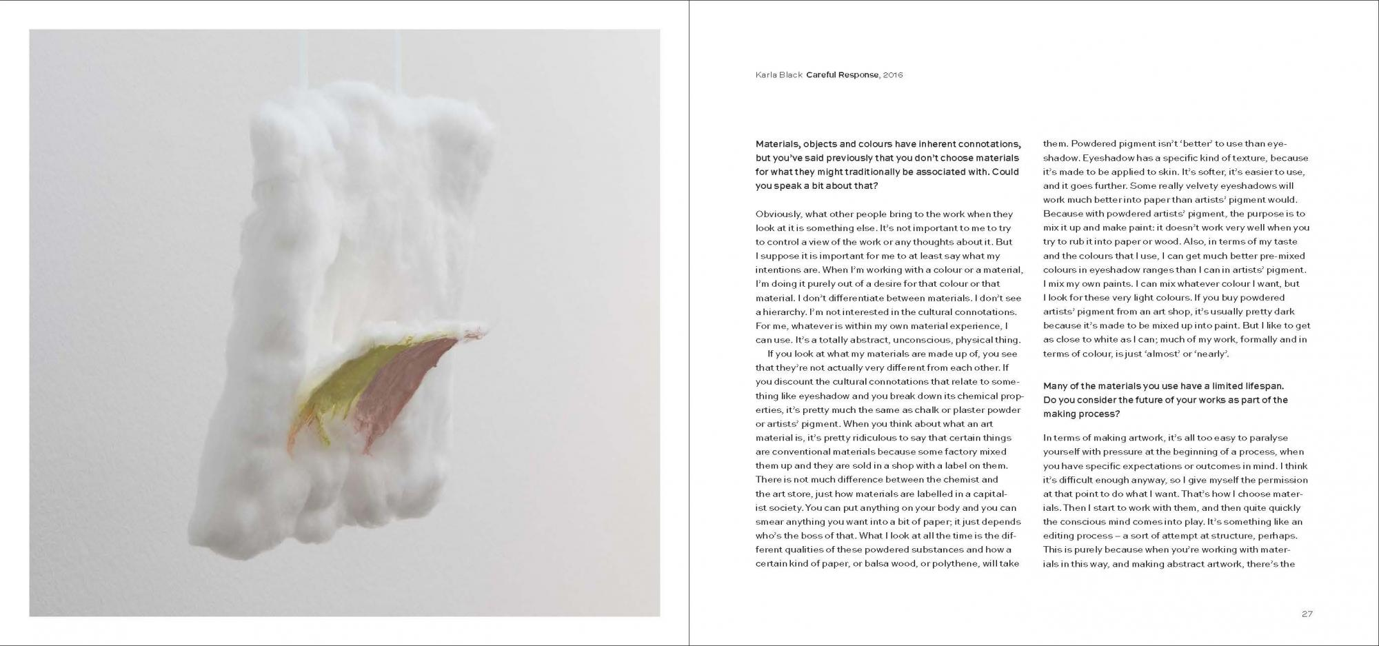 Karla Black + Kishio Suga: A New Order (paperback)