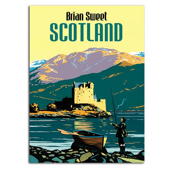 Brian Sweet: Scotland boxed notecard set (20 cards)