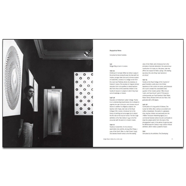 Bridget Riley Paintings 1963-2015 Exhibition Catalogue
