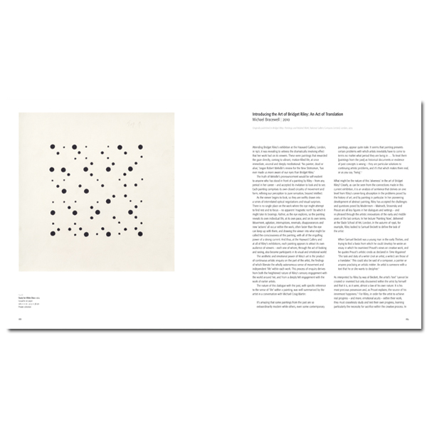 Pre-order Bridget Riley exhibition book (hardback)