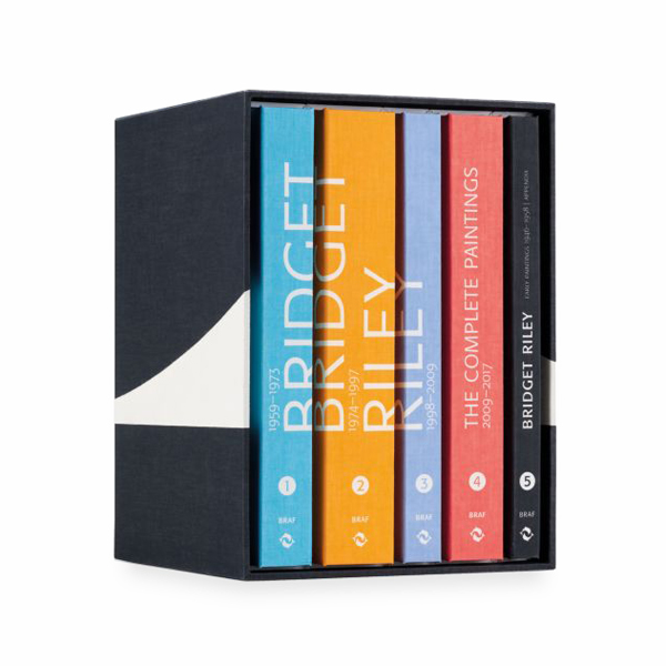Bridget Riley: the complete paintings special edition hardback book set