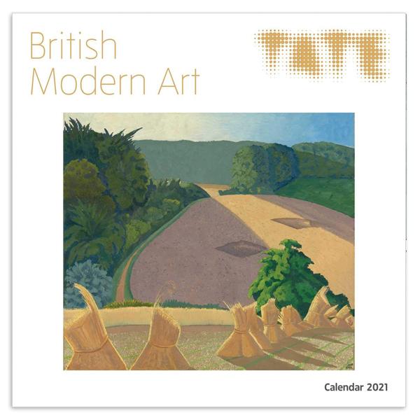 British modern art Tate 2021 wall calendar