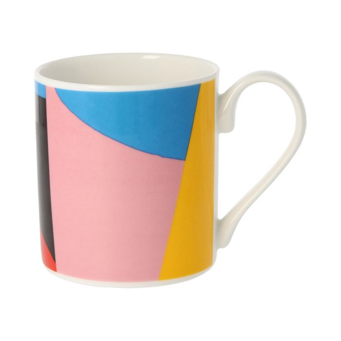 Geometric pattern I drinking chocolate mug