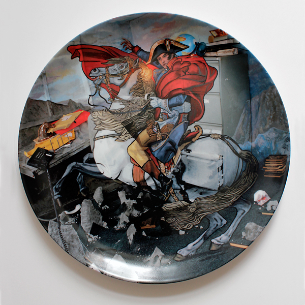 Bonaparte by Calum Colvin limited edition ceramic plate