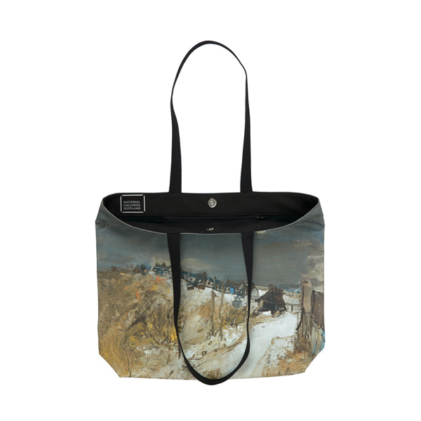 Catterline in Winter Joan Eardley Tote Bag