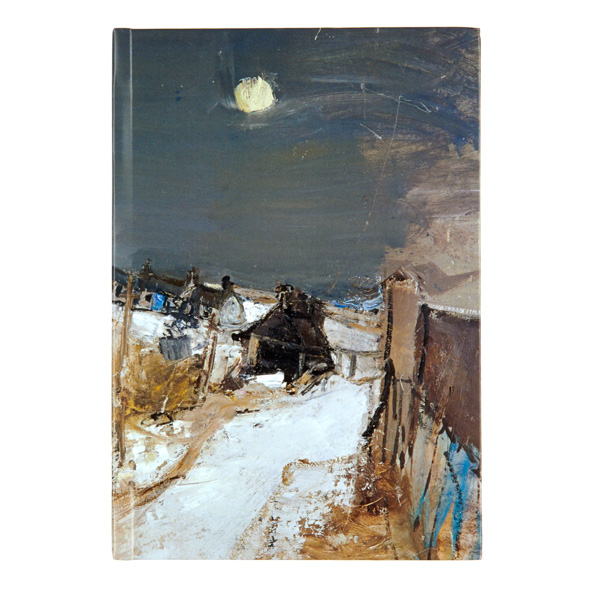 Catterline in Winter Joan Eardley A5 Hardback Notebook