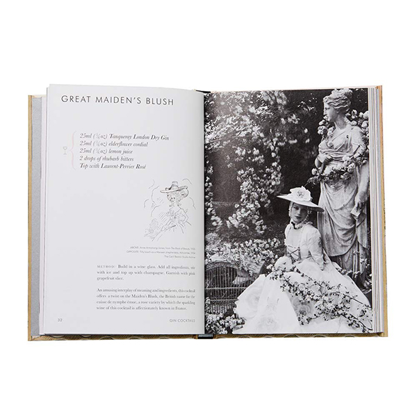 Cecil Beaton's cocktail recipe book
