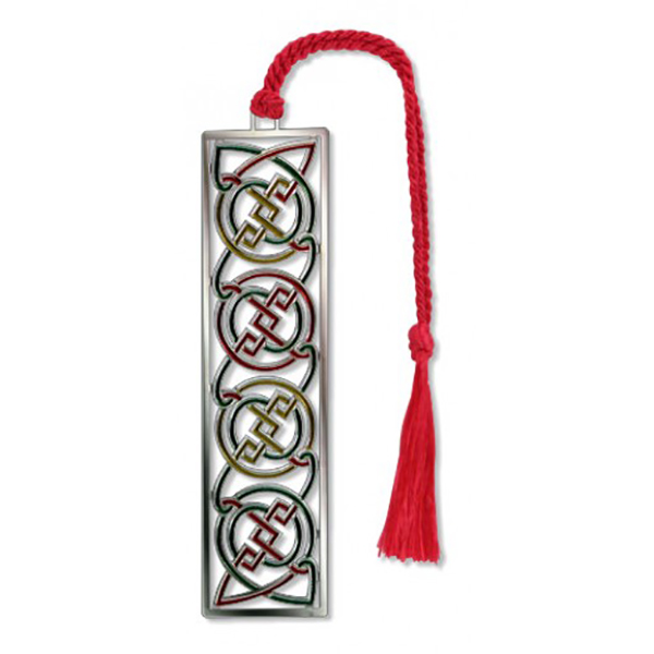 Celtic knots brass bookmark
