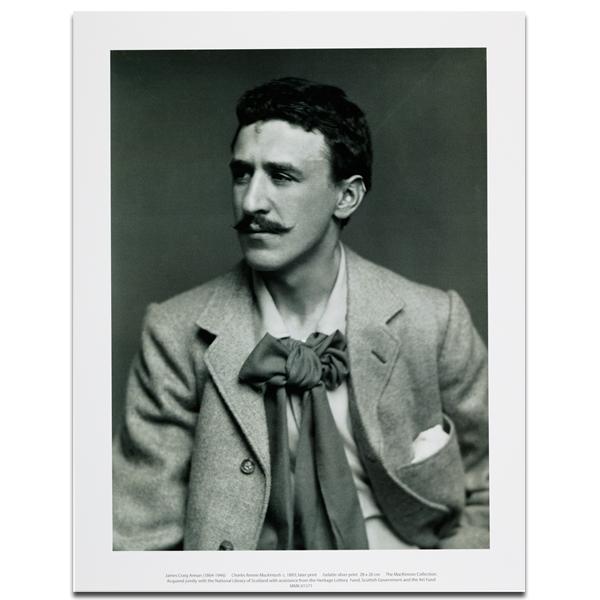 Charles Rennie Mackintosh by James Craig Annan art print