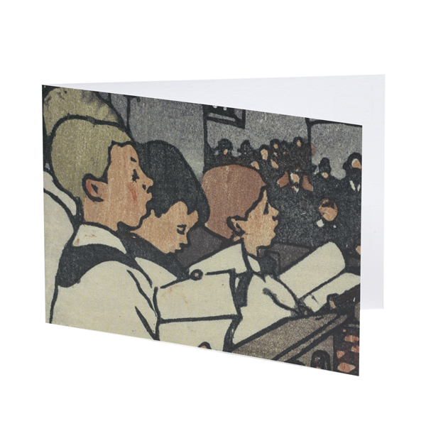 Choir Boys by Mabel Royds Christmas card pack (10 cards)