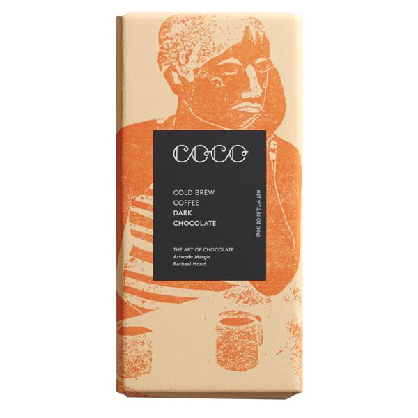 Coco Chocolatier cold brew coffee dark chocolate