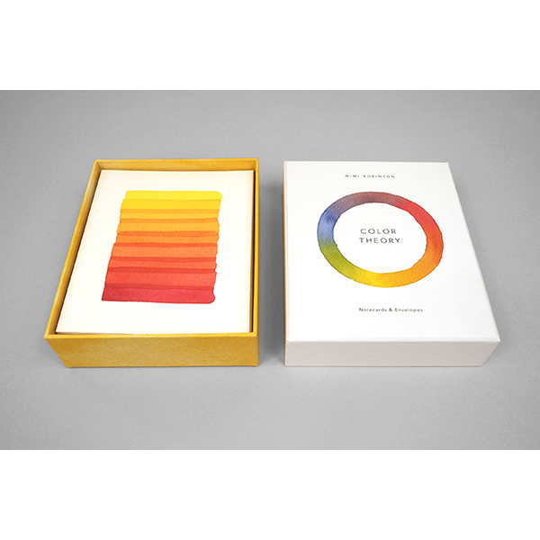 Colour theory notecard box (12 cards)
