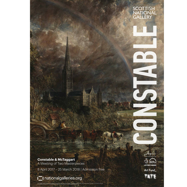 Constable & McTaggart: A Meeting of Two Masterpieces (Constable) exhibition poster