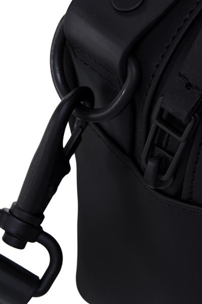 Cross body black waterproof bag