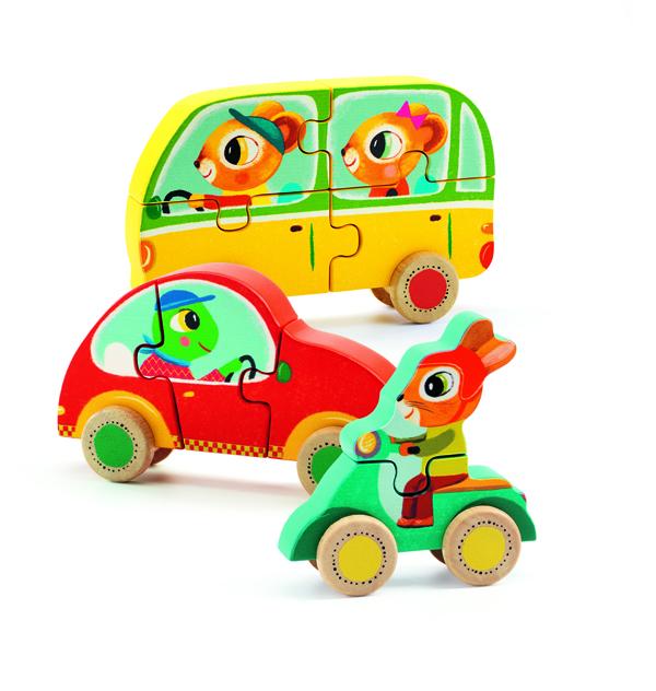 Djeco 3D Puzzle Jako & Co
