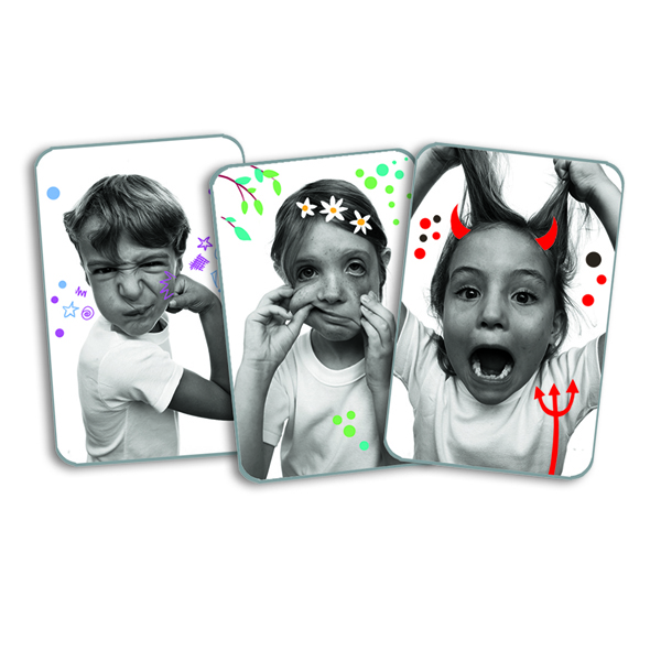 Djeco Grimaces Card Game