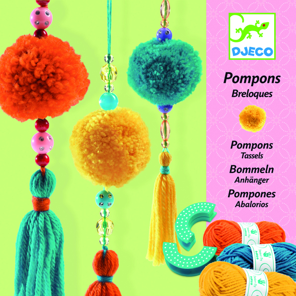 Djeco Pompon Making Kit