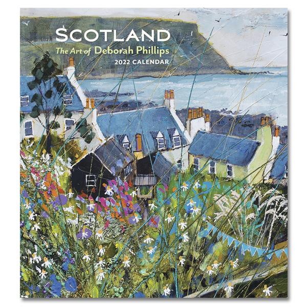 Scotland by Deborah Phillips 2022 wall calendar