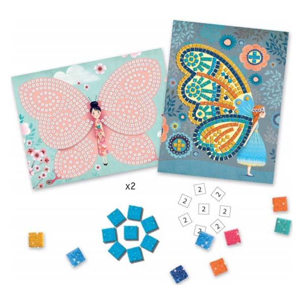 Butterflies mosaic art set