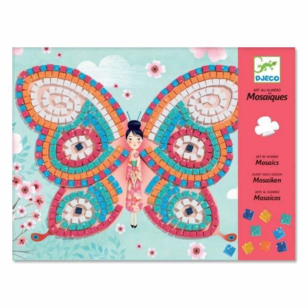 Djeco Butterflies Mosaic Art Set