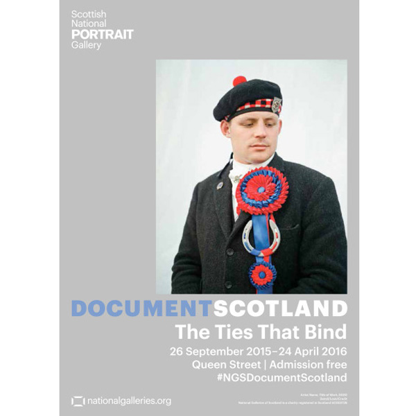 Document Scotland: The Ties That Bind exhibition poster