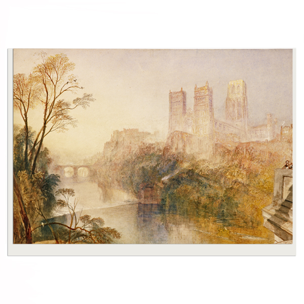 Durham JMW Turner Greeting Card