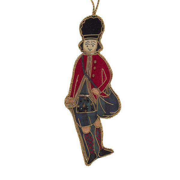 Sparkly Earl of Eglinton Christmas Decoration