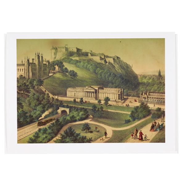 Edinburgh castle greeting card national galleries of scotland edinburgh castle greeting card m4hsunfo