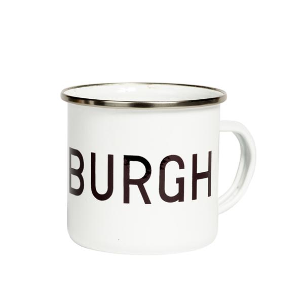 Edinburgh Enamel Mug