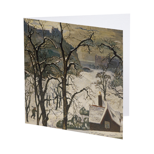 Edinburgh in Snow by William Crozier Christmas card pack (10 cards)