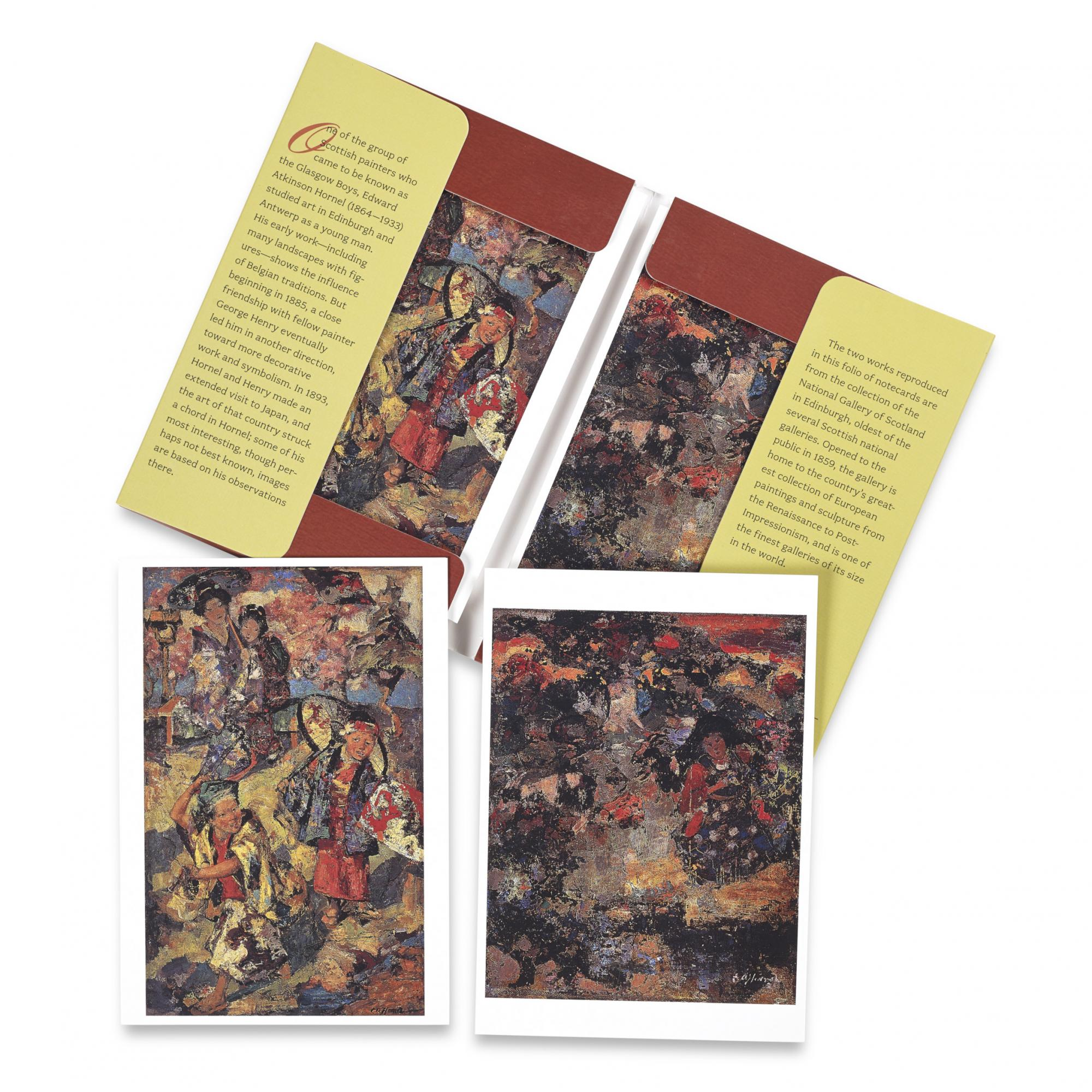 Edward Atkinson Hornel notecard set (10 cards)