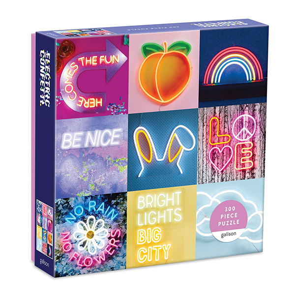 Electric confetti jigsaw puzzle (300 pieces)