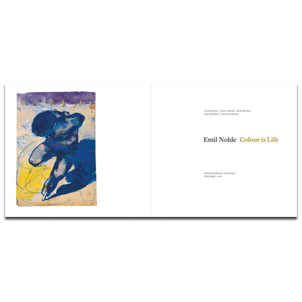 Emil Nolde: Colour is Life exhibition book (paperback)