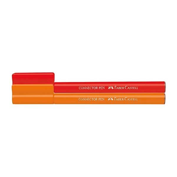 Connector fibre-tip pen box of 10