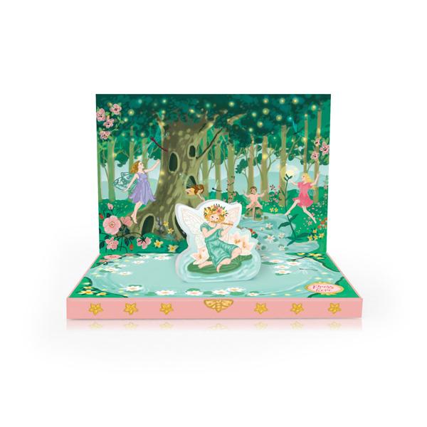 Fairyland Music Box Greeting Card