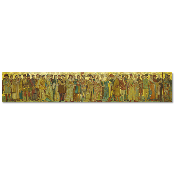 Processional Frieze by William Brassey Hole panoramic print