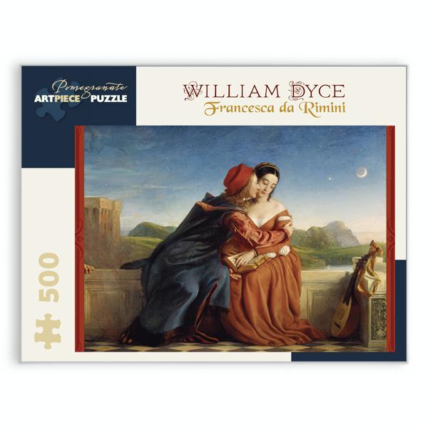 Francesca da Rimini by William Dyce jigsaw puzzle (500 pieces)