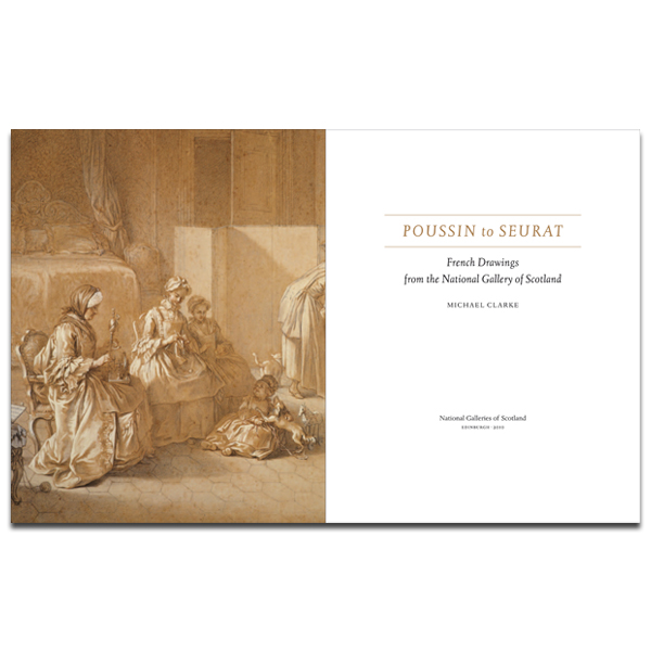 Poussin to Seurat: French Drawings from the National Gallery of Scotland book (hardback)