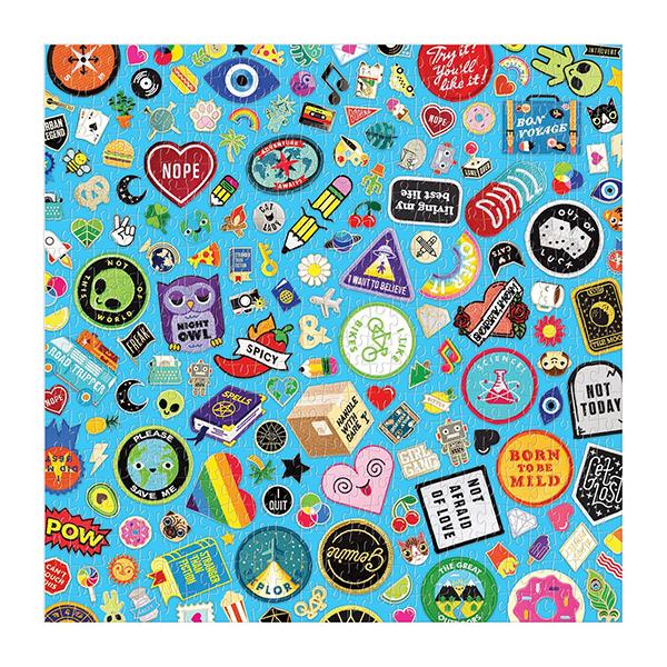 Fun flair jigsaw puzzle (500 pieces)