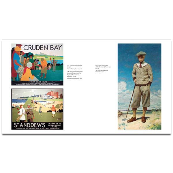 The Art of Golf Exhibition Catalogue