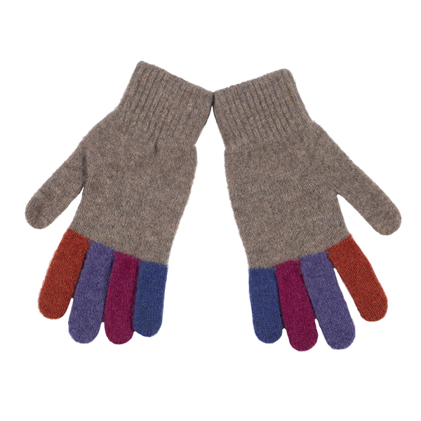 Green Grove Delauney Natural Wool Gloves