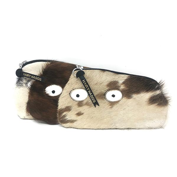 Hairy haggis furry pouch purse