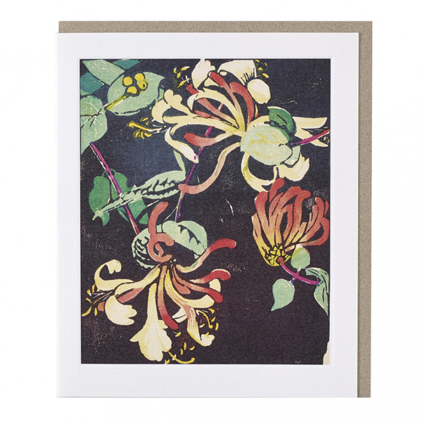 Honeysuckle by Mabel Royds greeting card