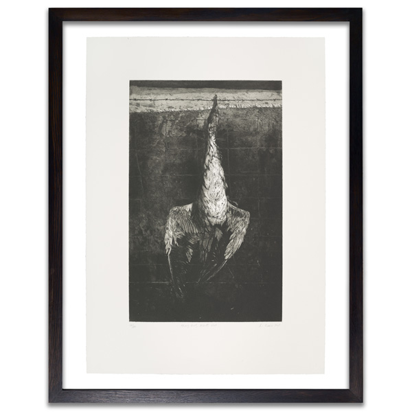 Hung Gull, North Uist by Ken Currie limited edition etching