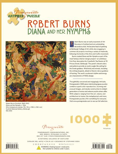 The Hunt Robert Burns Jigsaw Puzzle