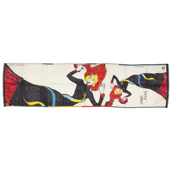 Jane Avril Toulouse-Lautrec Scarf