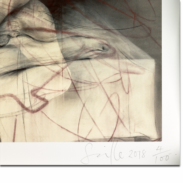 One out of two (symposium) by Jenny Saville limited edition print
